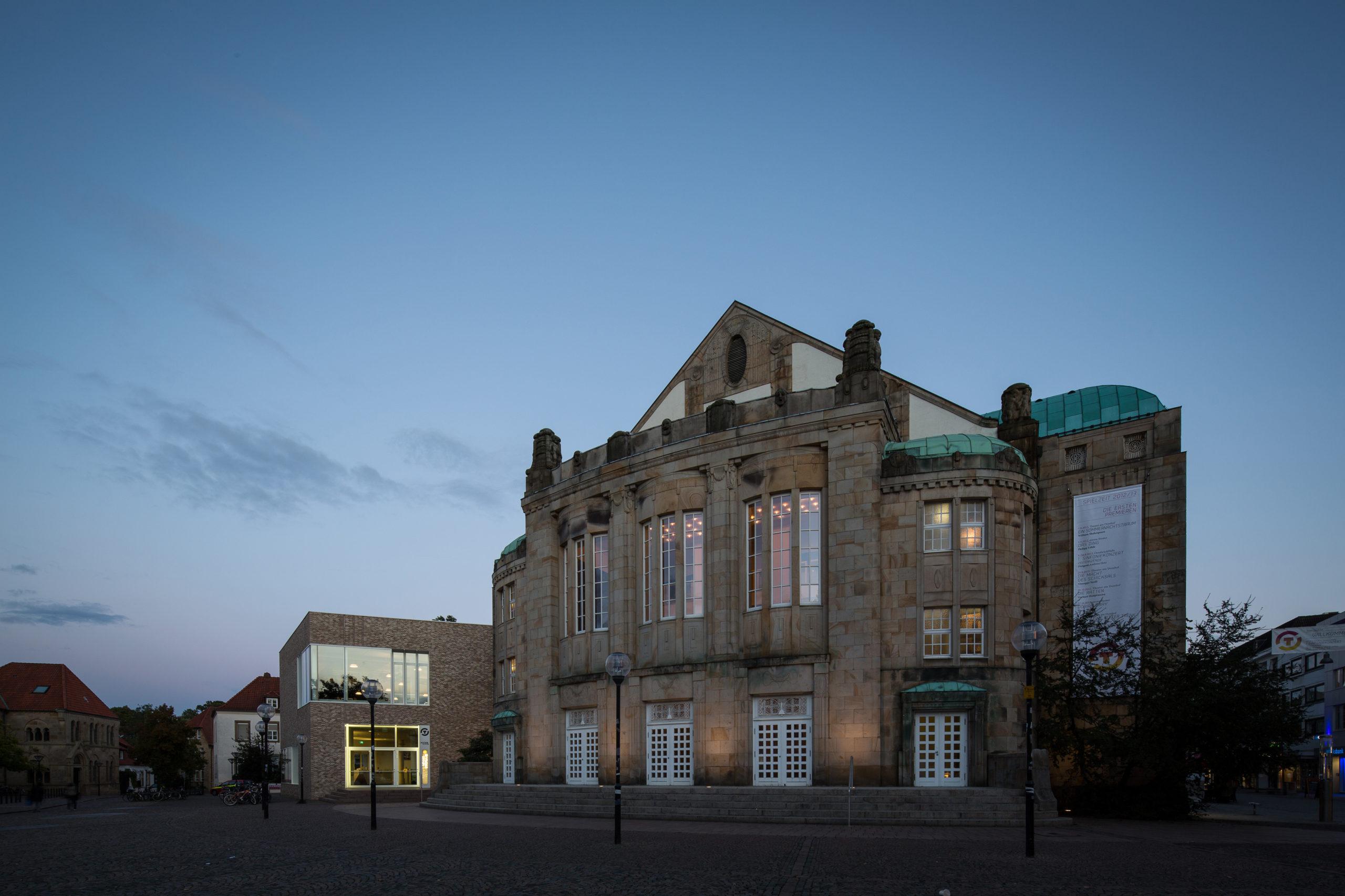 Theater am Domhof in Osnabrück Foto: Marius Maasewerd