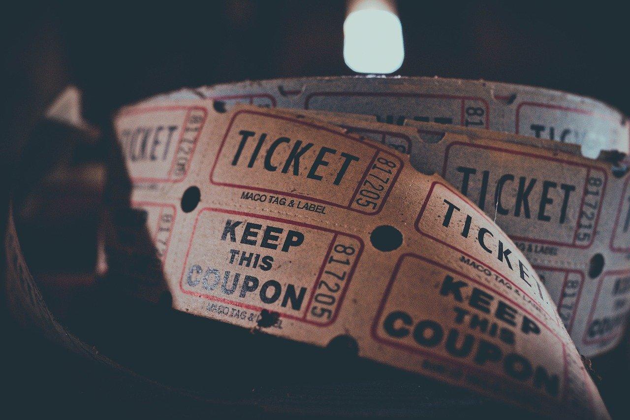 Ticketrolle Foto: Pixabay/Igor Ovsyannykov